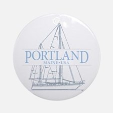 Portland Maine - Ornament (Round)
