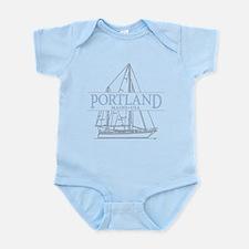 Portland Maine - Infant Bodysuit