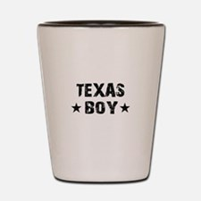 Texas Boy Shot Glass