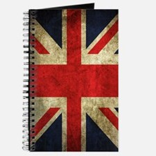 Grunge Uk Flag Journal
