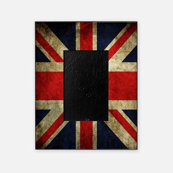 Grunge Uk Flag Picture Frame