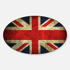 Grunge Uk Flag Decal