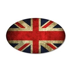 Grunge Uk Flag Wall Decal