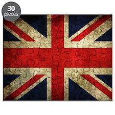 Grunge Uk Flag Puzzle