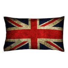 Grunge Uk Flag Pillow Case