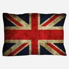 Grunge Uk Flag Pillow Case