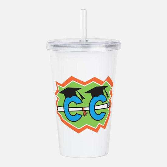 Cross Country Graduate Acrylic Double-wall Tumbler