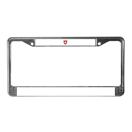 Valais, Switzerland License Plate Frame