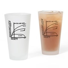 Fus Drinking Glass
