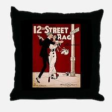 Cute 1900 Throw Pillow