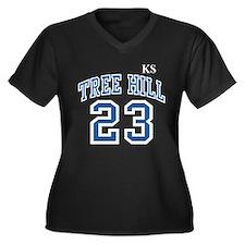 blackravensjersey23ksfront_12 Plus Size T-Shirt
