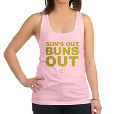 Cute Bathing suit Racerback Tank Top