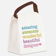 Cute Interior designer Canvas Lunch Bag
