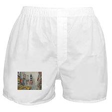 Cute New york broadway Boxer Shorts