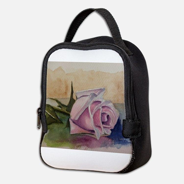 Cute Rosas Neoprene Lunch Bag