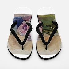 Unique Rosas Flip Flops