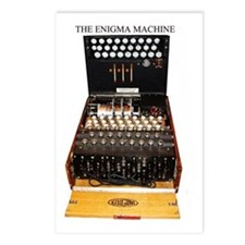 The Enigma Machine Postcards (package Of 8)