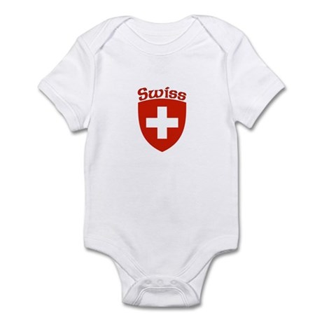 Swiss Coat of Arms Infant Bodysuit