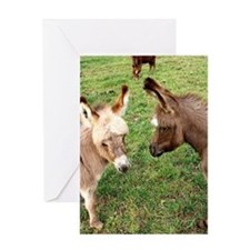 2babes9x11 Greeting Cards
