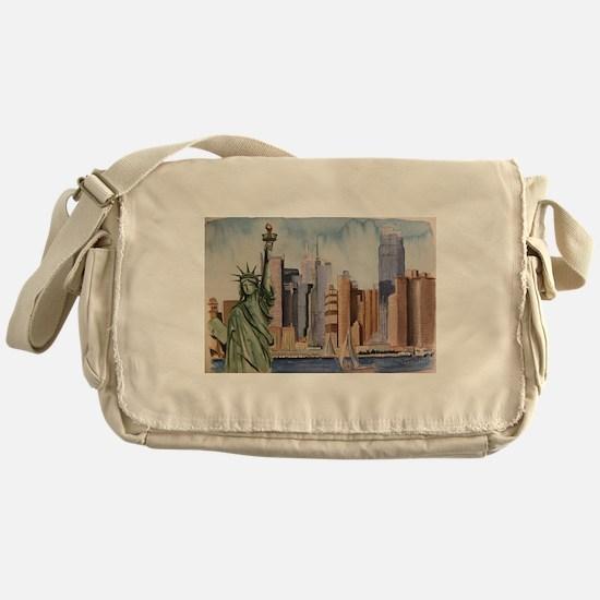 Funny Libertad Messenger Bag