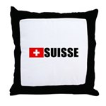 Suisse Flag Throw Pillow
