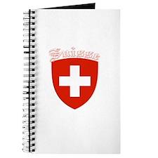 Suisse Coat of Arms (Dark) Journal
