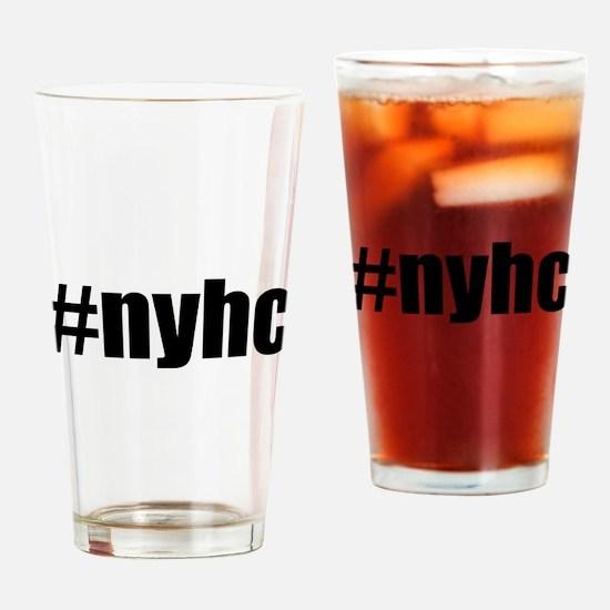 New York Hardcore #NYHC Drinking Glass