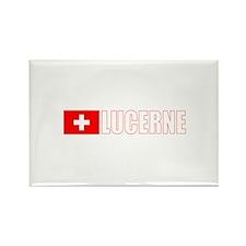 Lucerne, Switzerland Rectangle Magnet (100 pack)