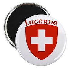 """Lucerne, Switzerland 2.25"""" Magnet (10 pack)"""