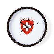 Lucerne, Switzerland Wall Clock