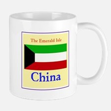 China, the emerald isle Mugs