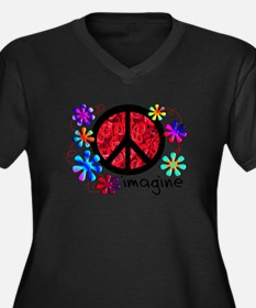 Imagine Peace 2011 Plus Size T-Shirt