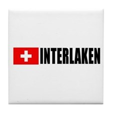 Interlaken, Switzerland Tile Coaster