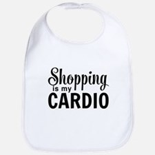 Shopping is my cardio Bib