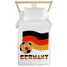 Cute Germany flag Twin Duvet