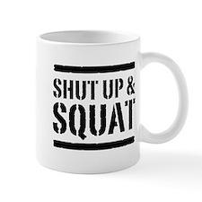 Shut up & squat 2 Mugs