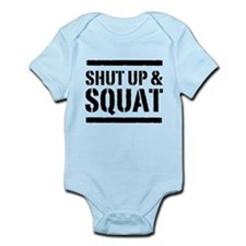 Shut up & squat 2 Body Suit