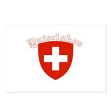 Interlaken, Switzerland Postcards (Package of 8)