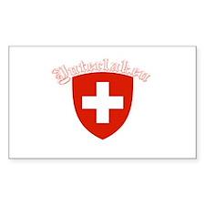 Interlaken, Switzerland Rectangle Decal