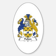 Fulton Oval Decal