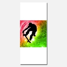 Skateboarder in a Psychedelic Cyclone Invitations