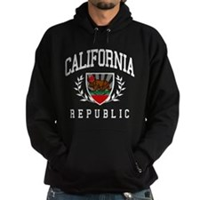 California Republic (distressed look) Hoodie