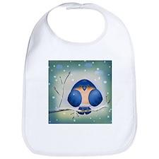 Blue Bird Winter Bib