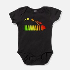 Hawaiian Islands Baby Bodysuit