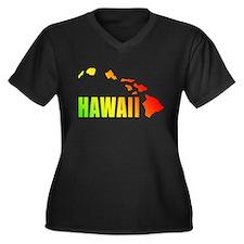 Hawaiian Islands Plus Size T-Shirt