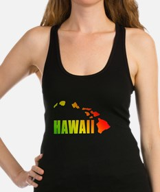 Hawaiian Islands Racerback Tank Top