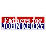 Fathers for John Kerry (bumper sticker)