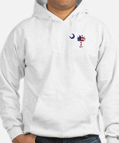 Red White and Blue Palmetto Hoodie