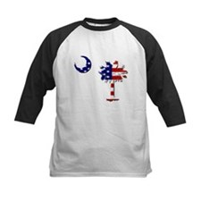 Red White and Blue Palmetto Tee