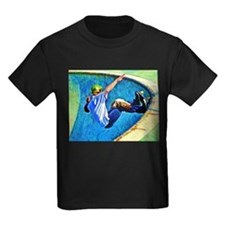 Skateboarding in the Bowl T-Shirt